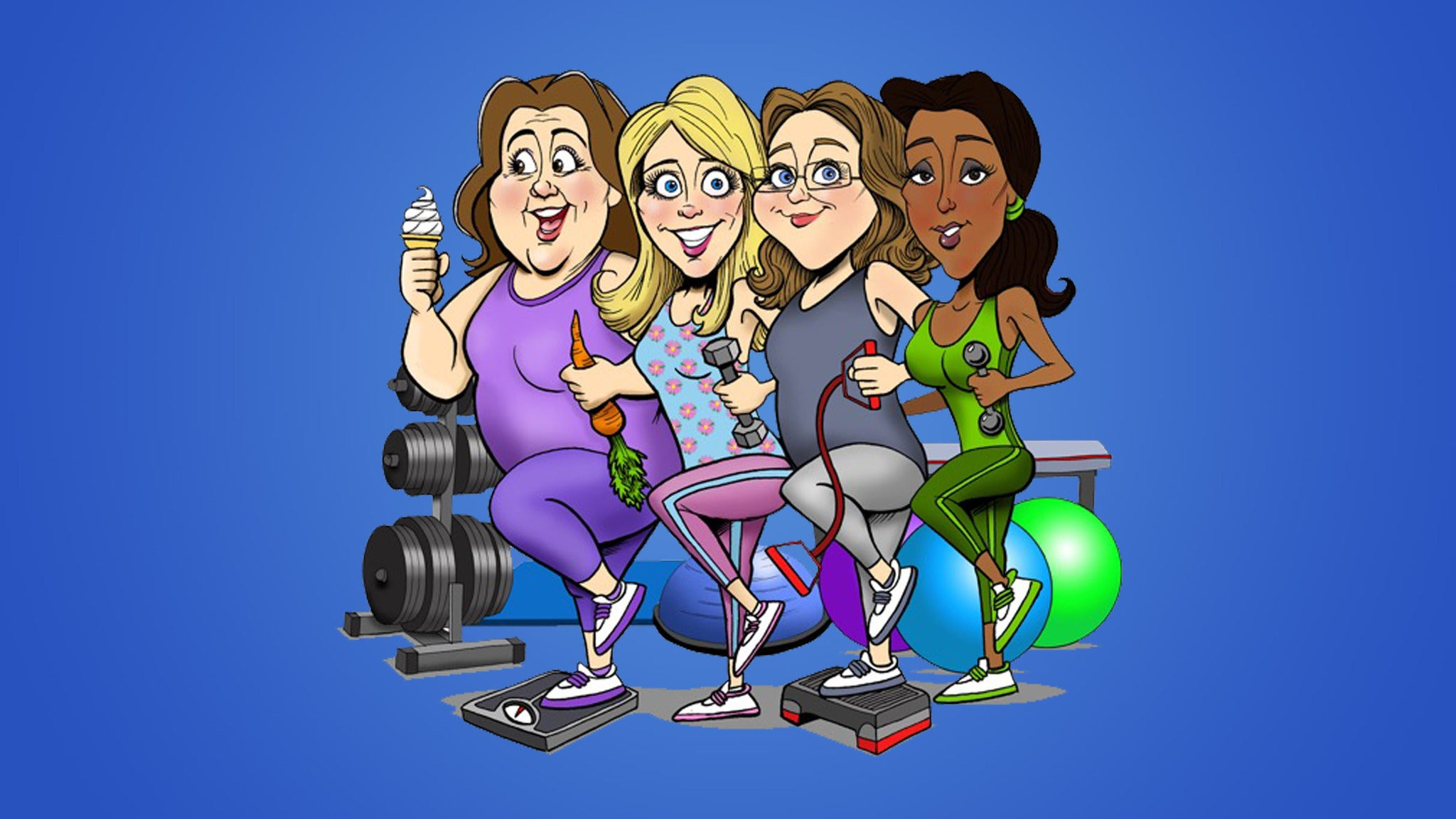 WaistWatchers The Musical at Royal George Theatre