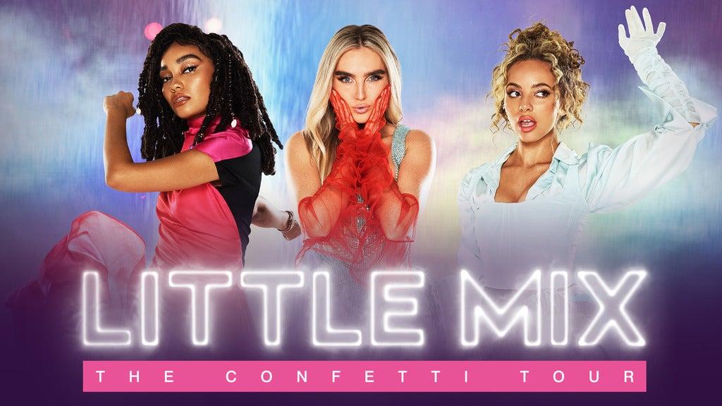 Little Mix 3Arena Seating Plan