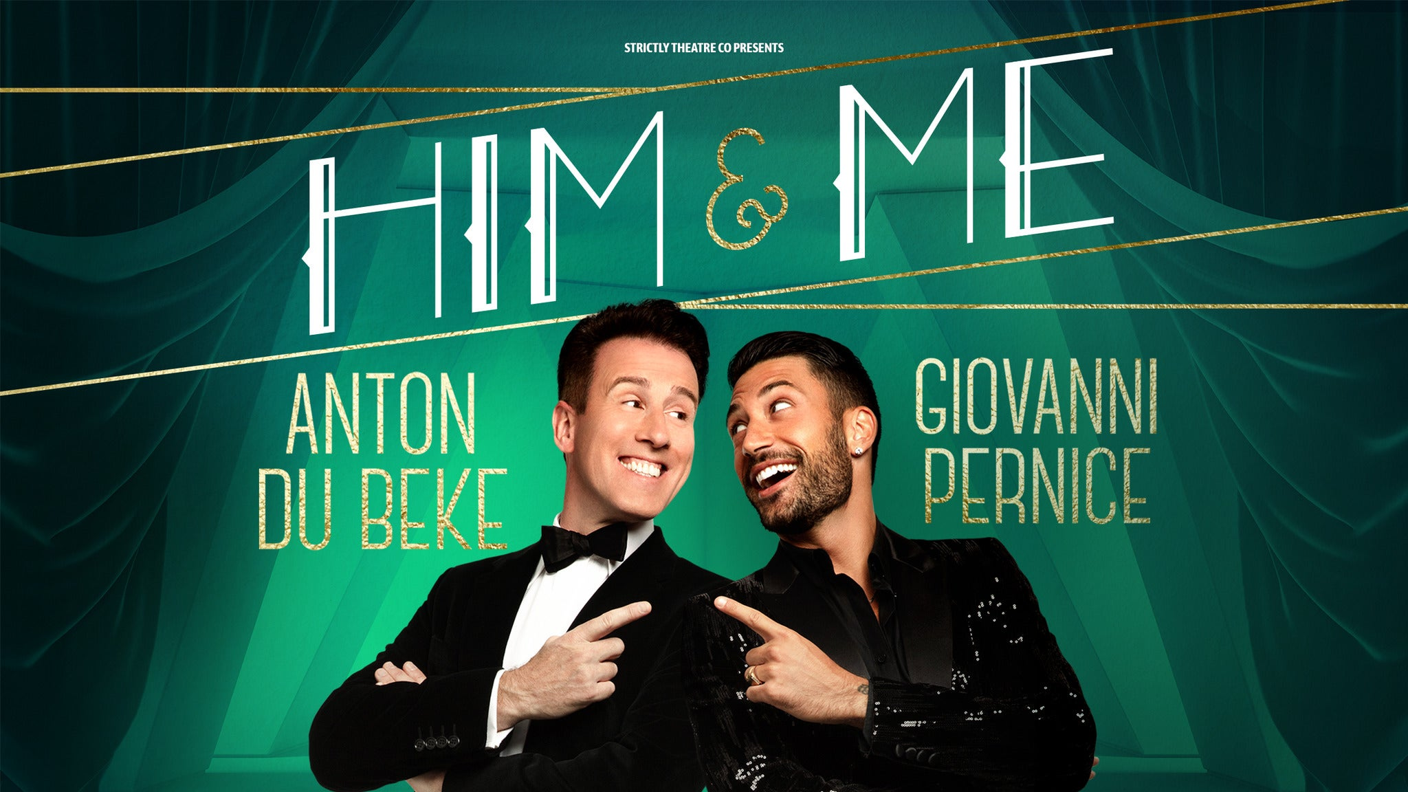 Anton and Giovanni - Him and Me tickets (Copyright © Ticketmaster)