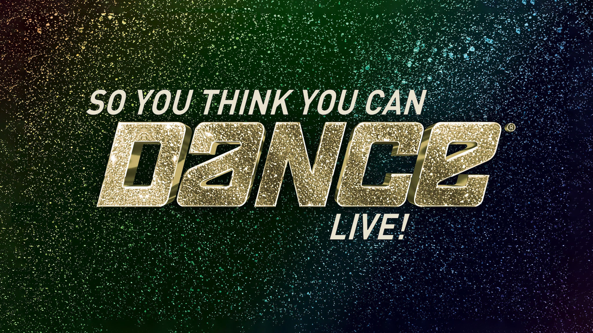 So You Think You Can Dance Live Tour Tickets So You