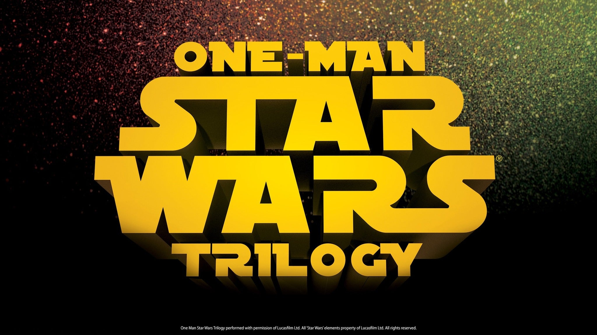 One Man Star Wars at Effingham Performance Center - Effingham, IL 62401