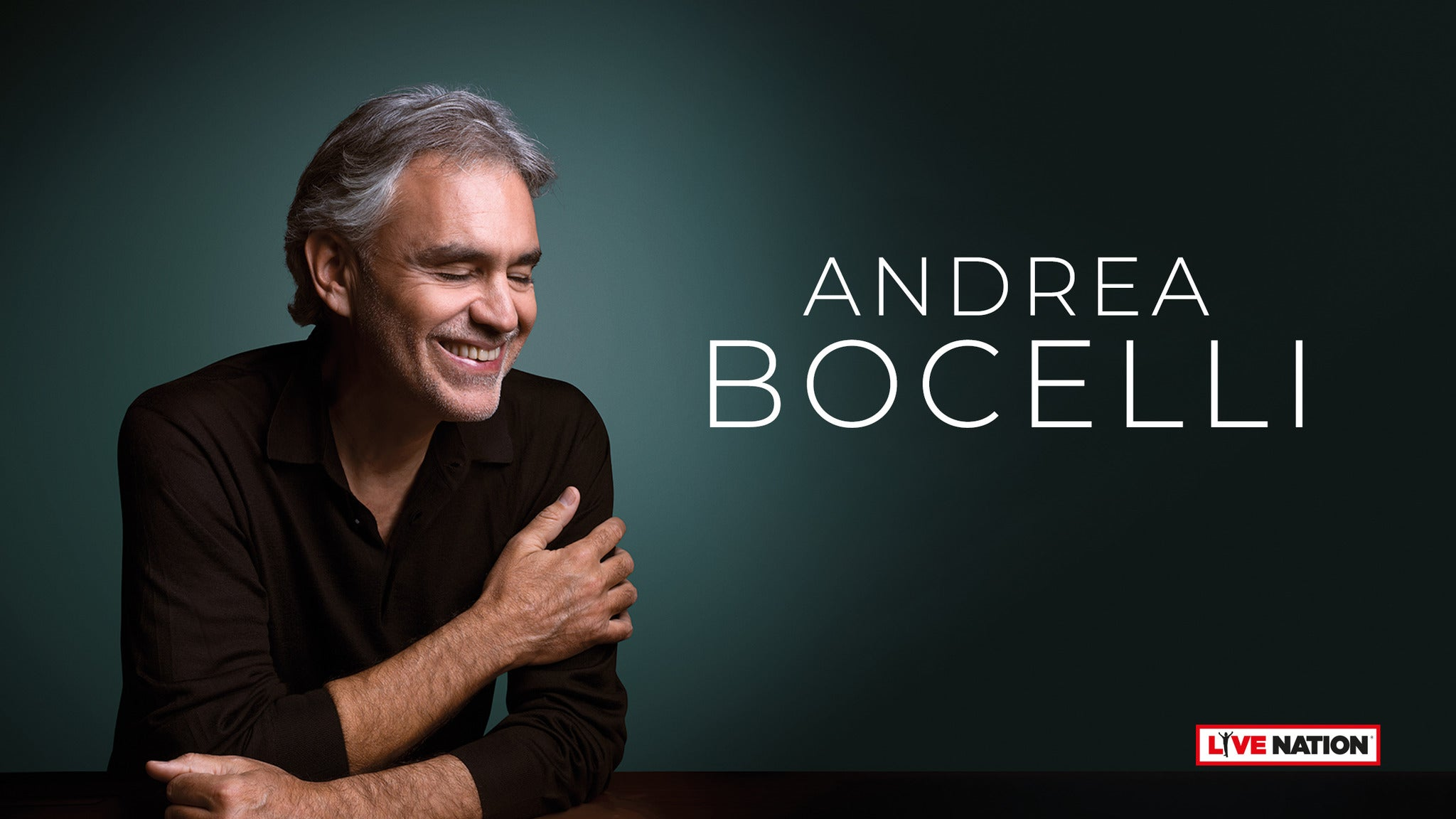 Andrea Bocelli at Hard Rock Live