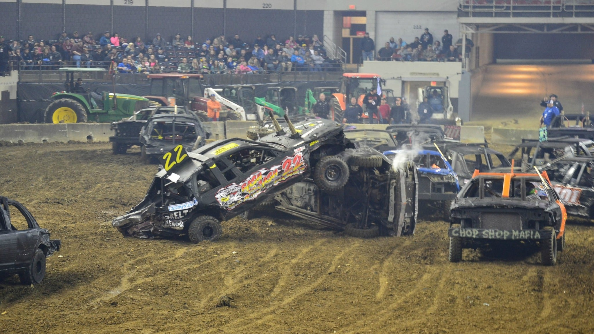 Bluegrass Bash Demolition Derby at Freedom Hall