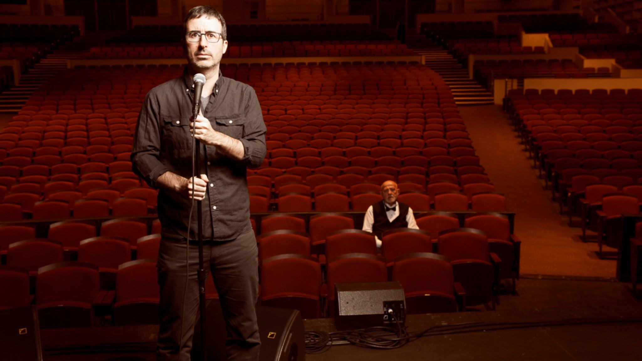 John Oliver Live at Fox Theatre Detroit