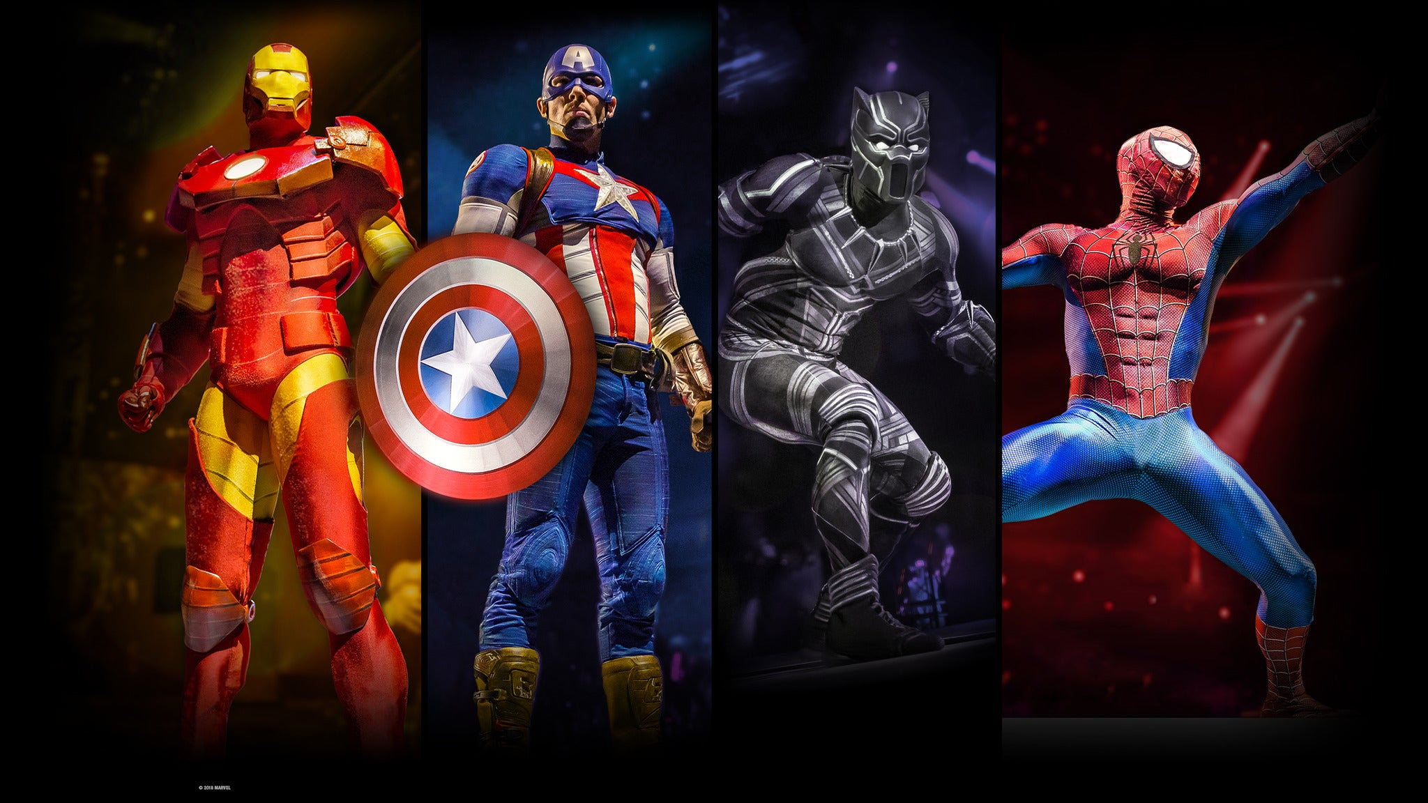 Marvel Universe LIVE! Age of Heroes at XL Center - Hartford, CT 06103