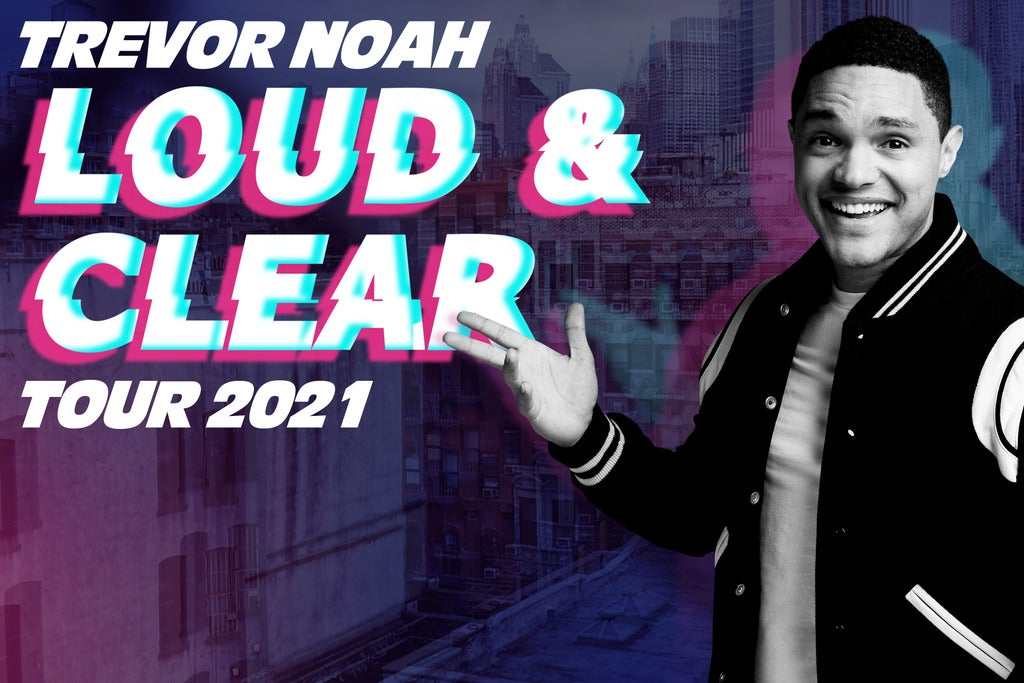 Trevor Noah - Loud and Clear Tour 2020 Seating Plan 3Arena