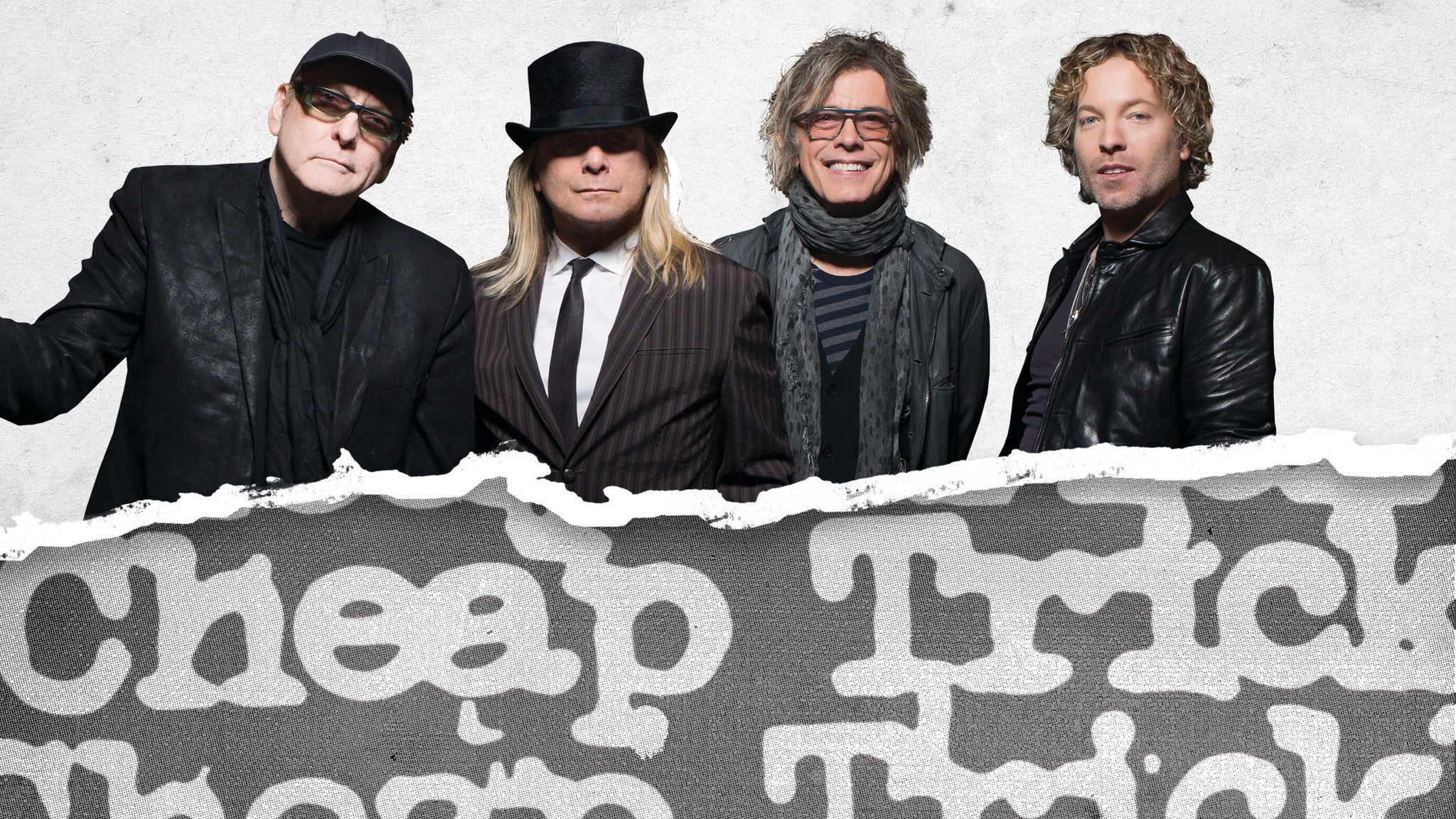 Cheap Trick at Redding Civic Auditorium