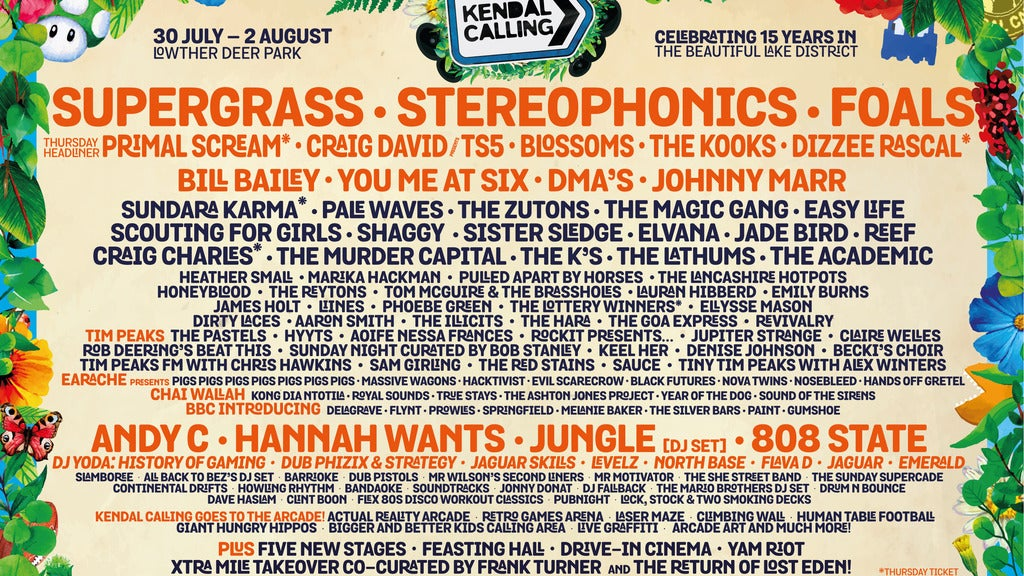 Hotels near Kendal Calling Events