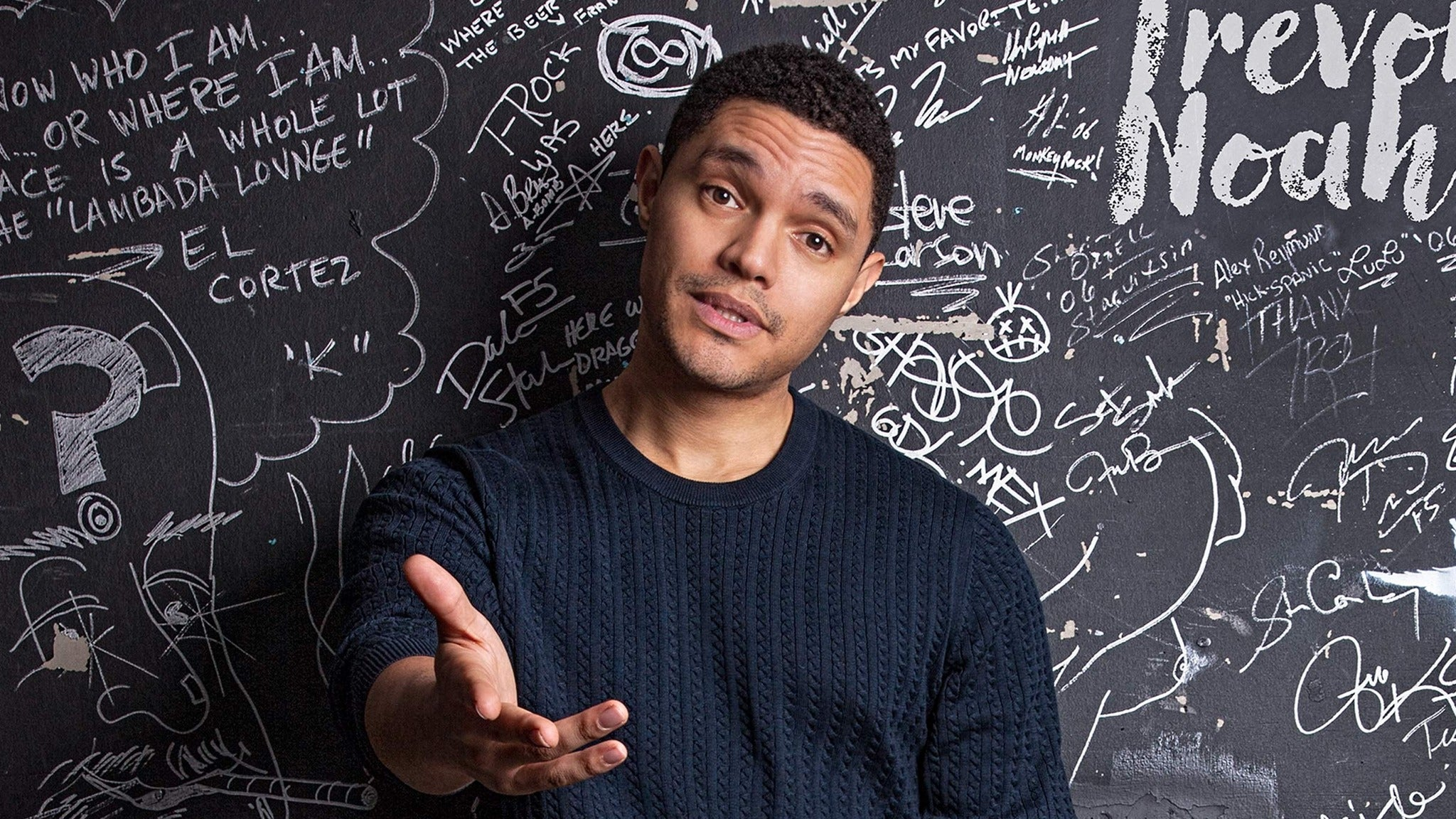 Trevor Noah at The Masonic