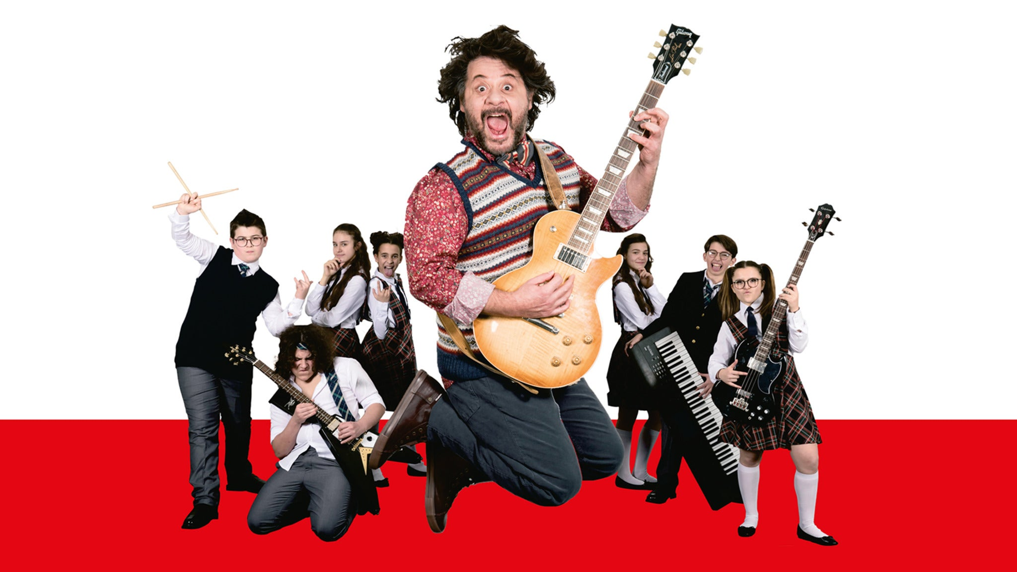 School of Rock The Musical Event Title Pic