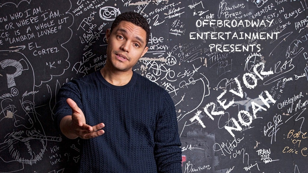 Hotels near Trevor Noah Events
