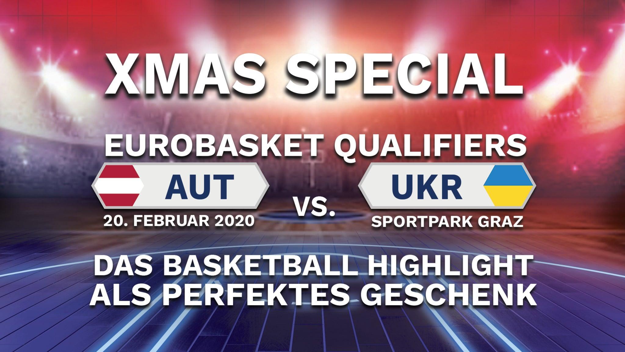 Basketball EM-Qualifikation: Österreich vs. Ukraine