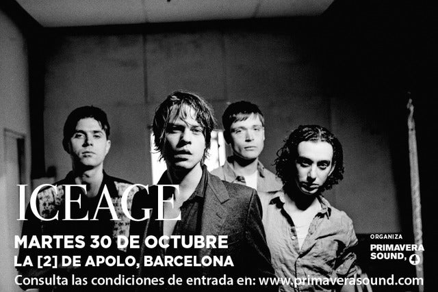 Iceage at Great American Music Hall - San Francisco, CA 94109