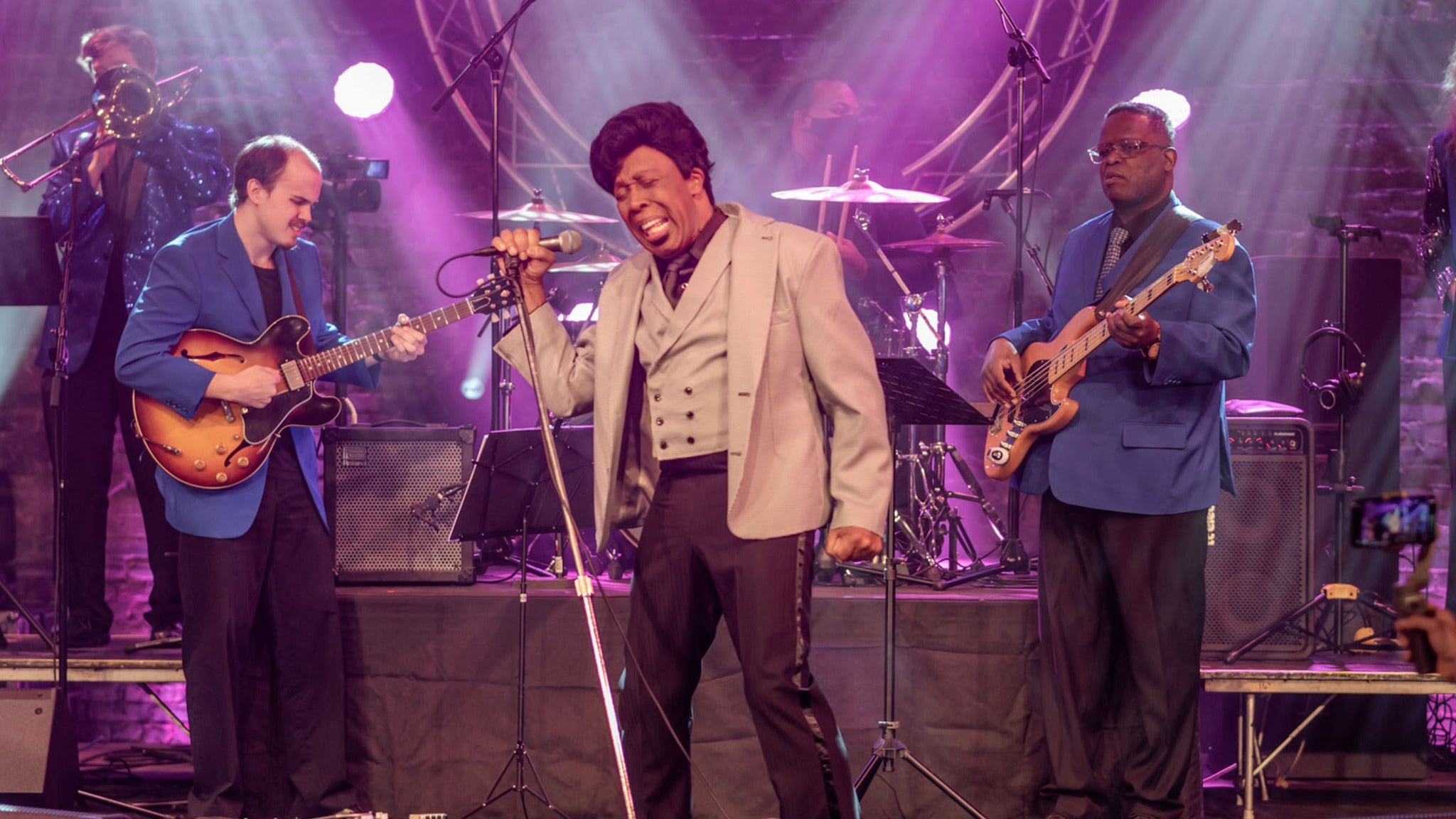 Ty Stone's James Brown Experience at Ames Center