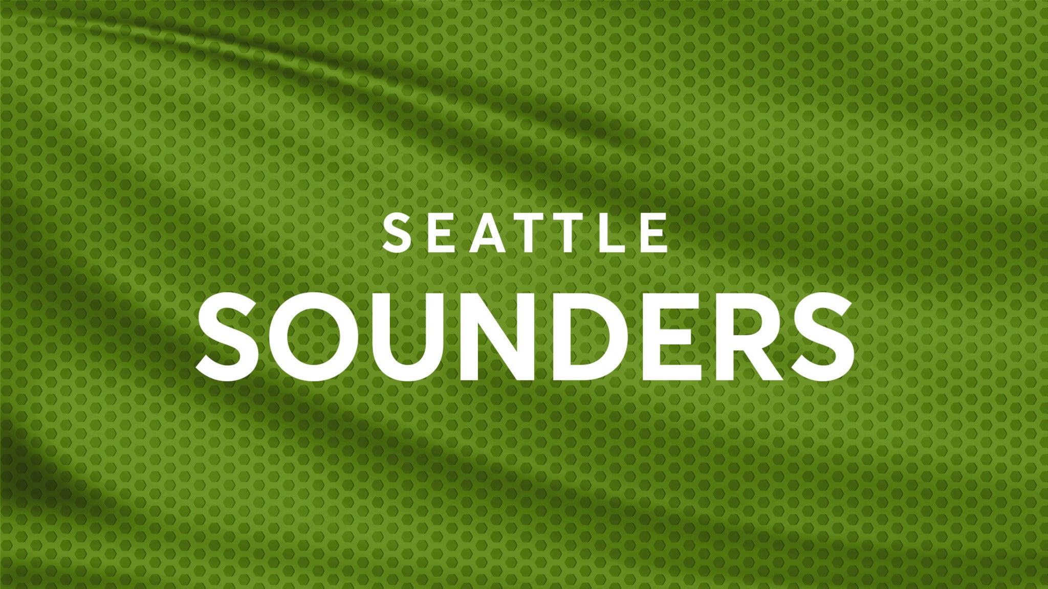 Seattle Sounders Fc Tickets 2020 Mls Tickets Schedule Ticketmaster