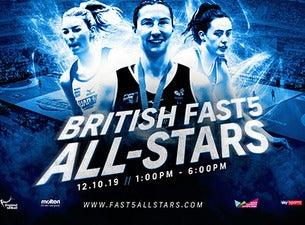 British Fast5 All Star Championships 2019 tickets (Copyright © Ticketmaster)