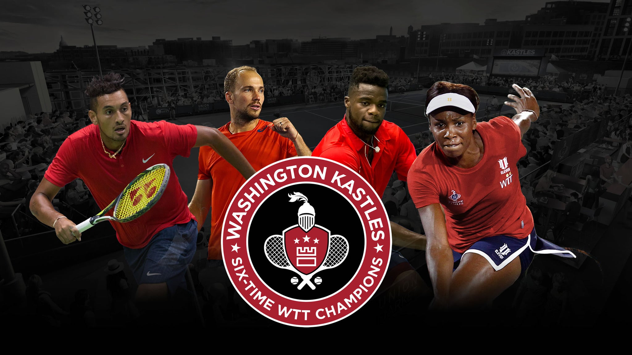Washington Kastles v Orange County Breakers