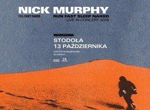 Nick Murphy, 2019-10-13, Варшава