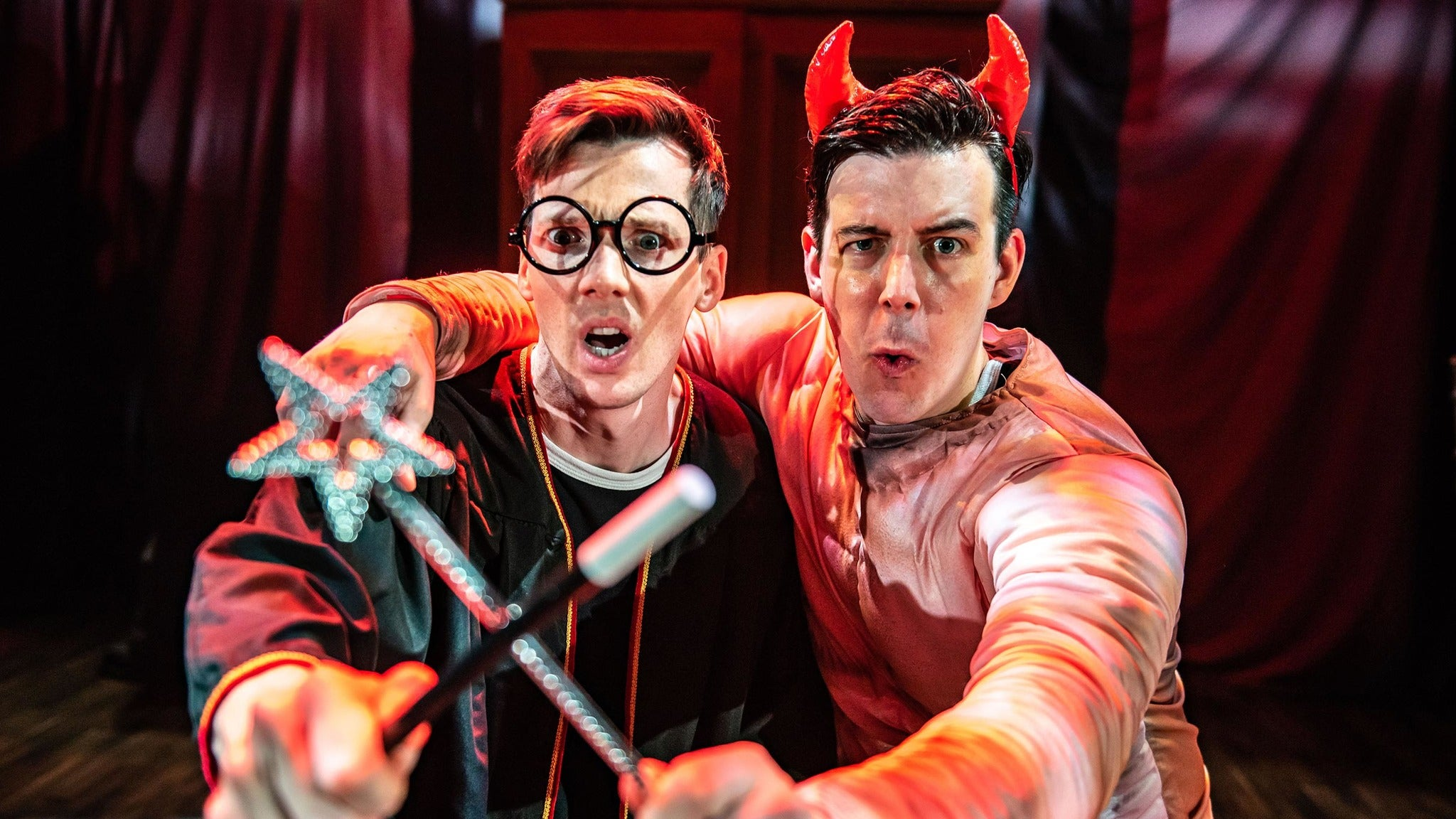 Potted Potter: The Unauthorized Harry Experience - Opening Night tickets (Copyright © Ticketmaster)