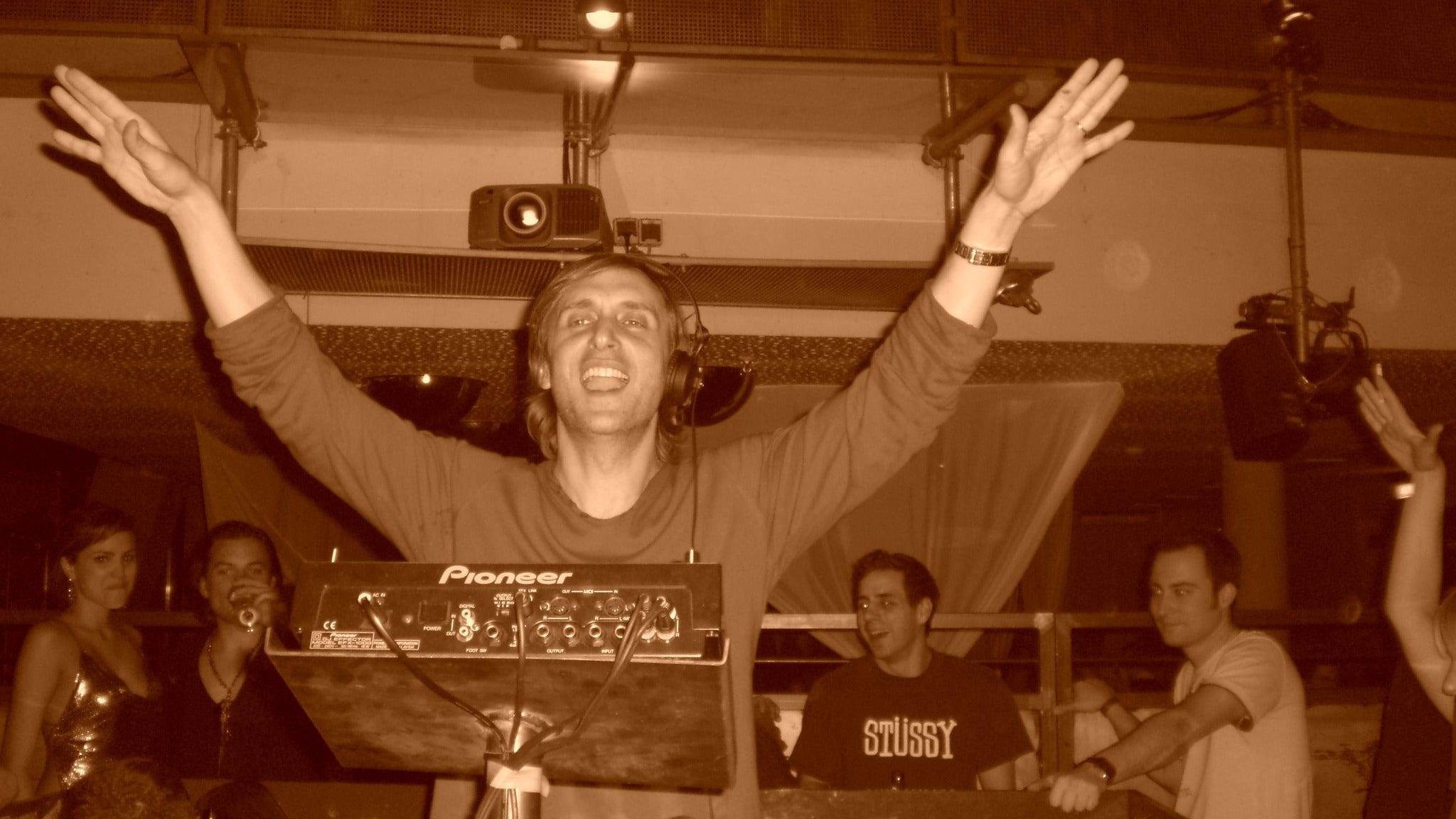 David Guetta at Echostage