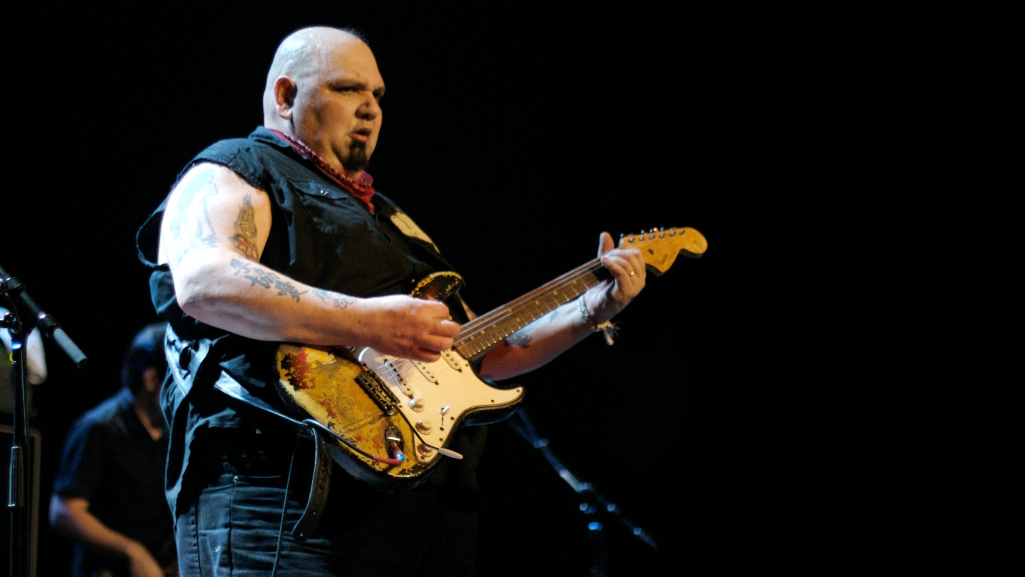 Popa Chubby at The Funky Biscuit
