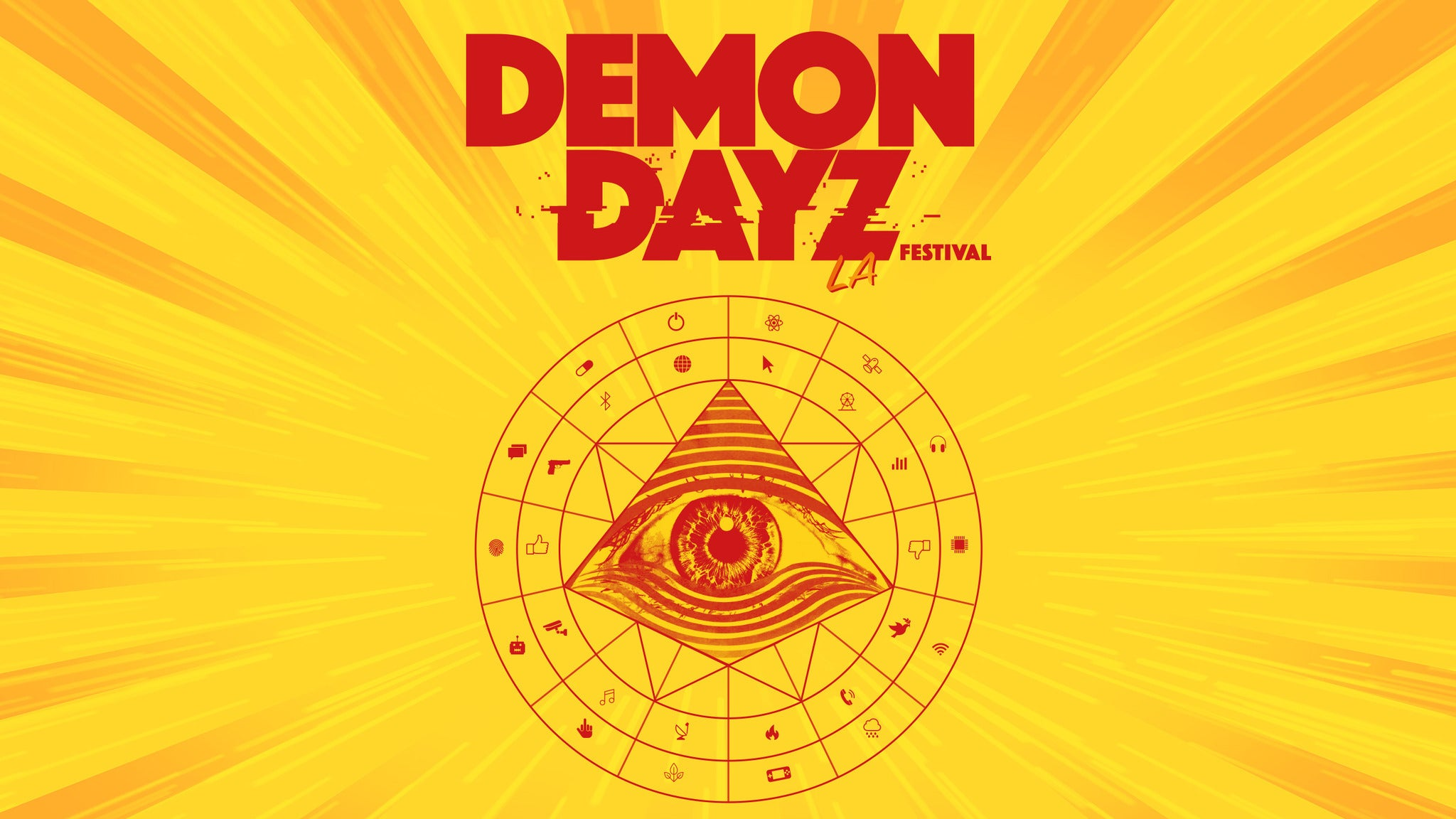 Gorillaz Demon Dayz Festival at Pico Rivera Sports Arena