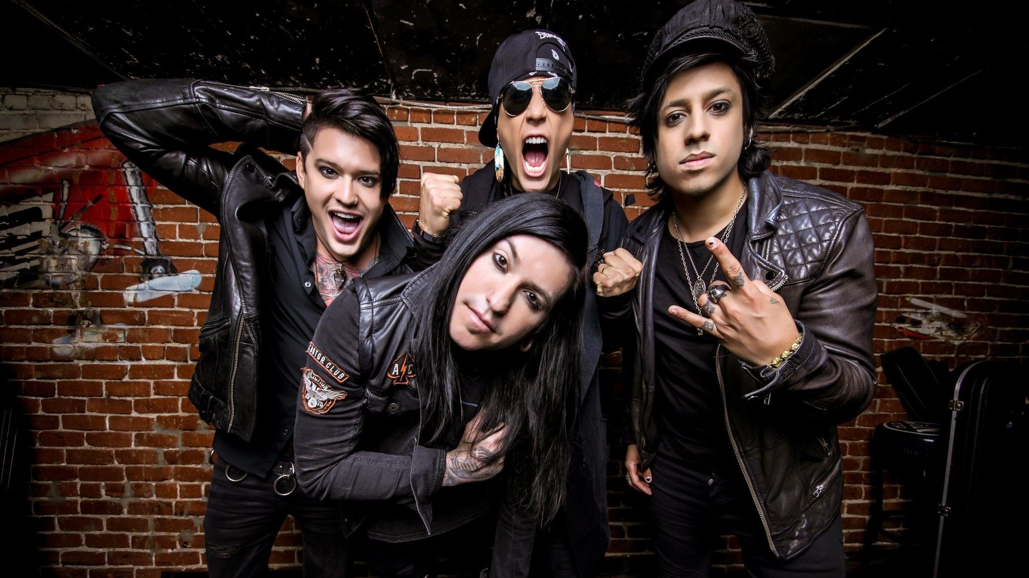 Escape the Fate at Club Red