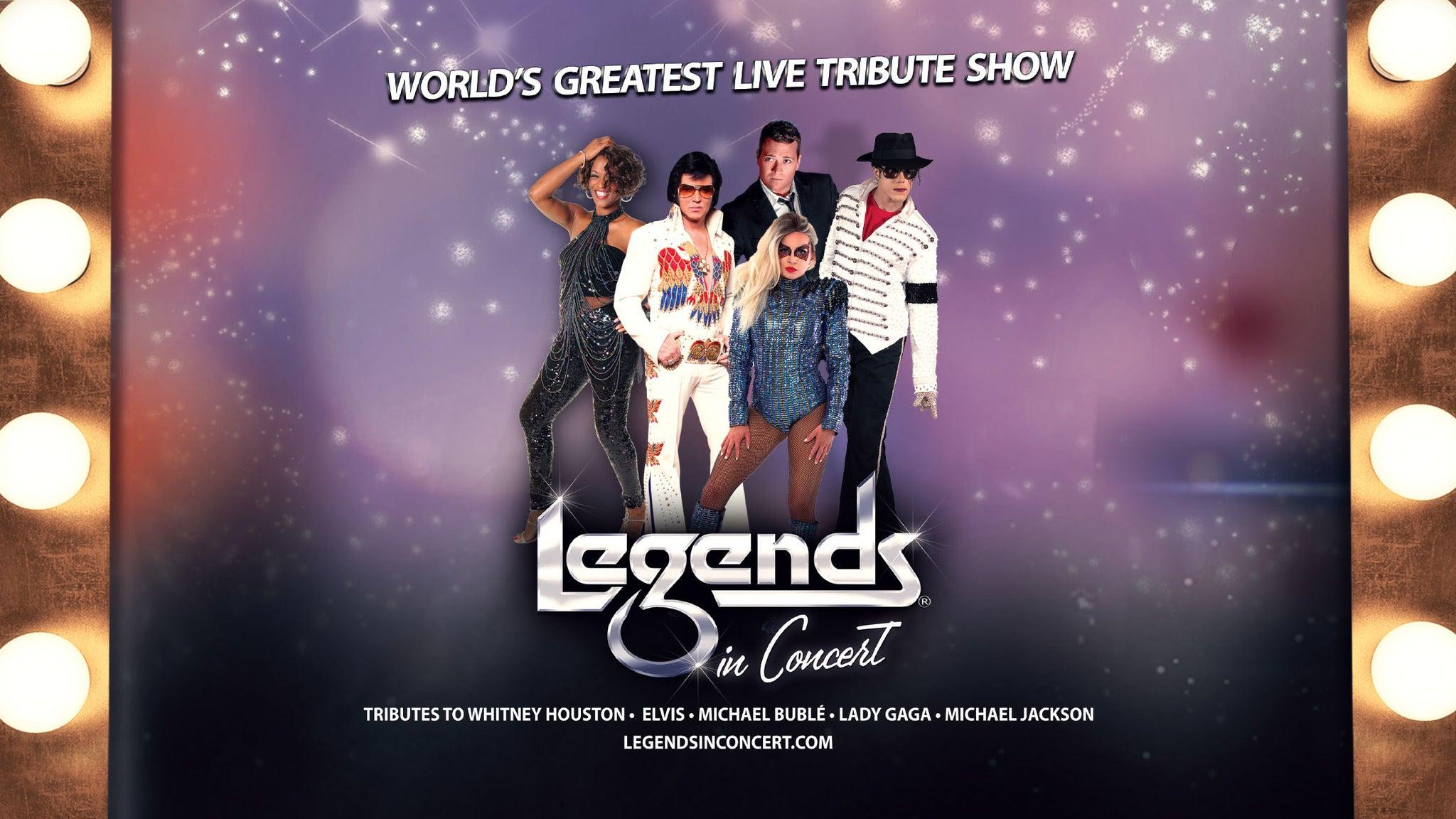 Legends In Concert - Mashantucket, CT 06355