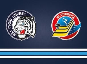 Bílí tygři Liberec - HC Vítkovice Ridera