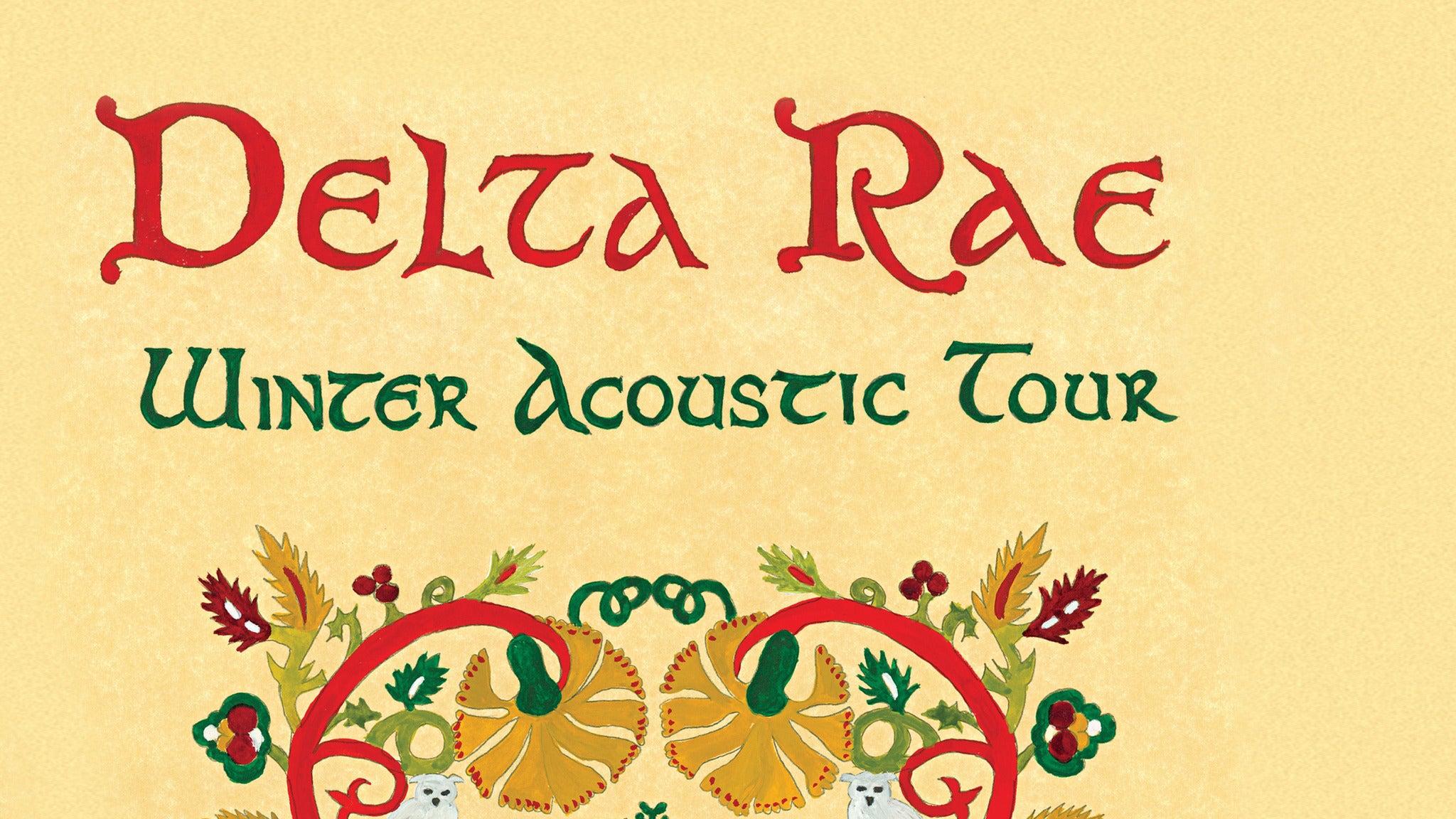 Delta Rae at Amaturo Theater at Broward Center - Ft Lauderdale, FL 33312