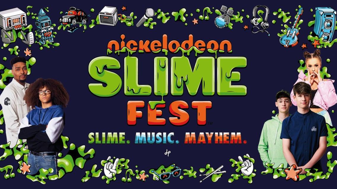 Nickelodeon Slimefest tickets (Copyright © Ticketmaster)