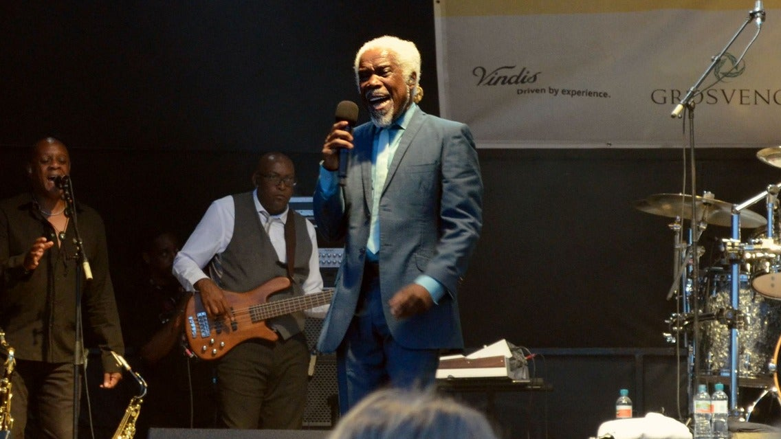 Billy Ocean at Pompano Beach Amphitheater