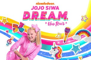 JoJo Siwa - Nickelodeon's JoJo Siwa D.R.E.A.M. The Tour The O2 Arena Seating Plan