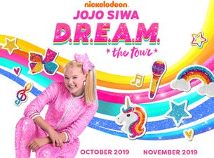 JoJo Siwa - Nickelodeon's JoJo Siwa D.R.E.A.M. The Tour Genting Arena Seating Plan