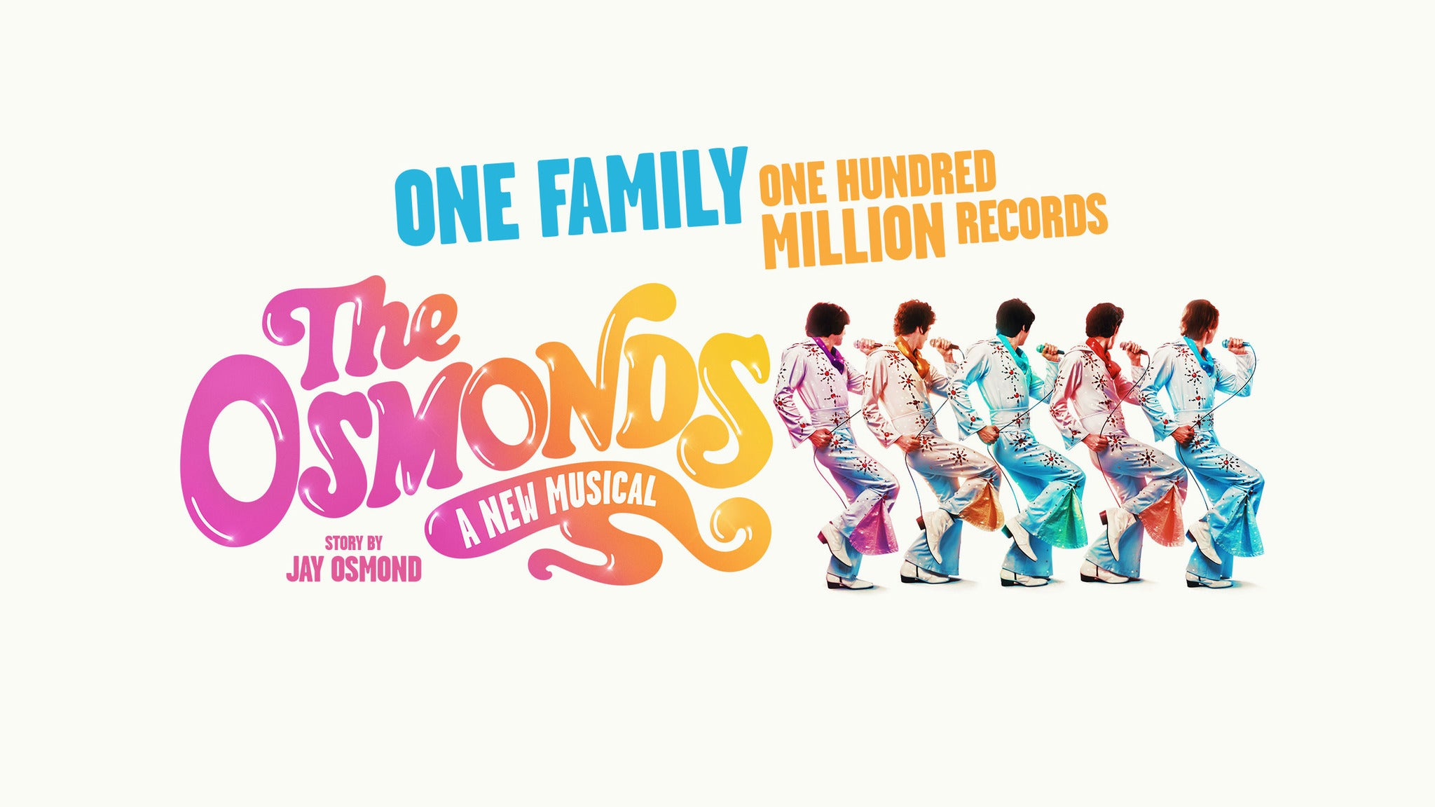 The Osmonds - A New Musical tickets (Copyright © Ticketmaster)
