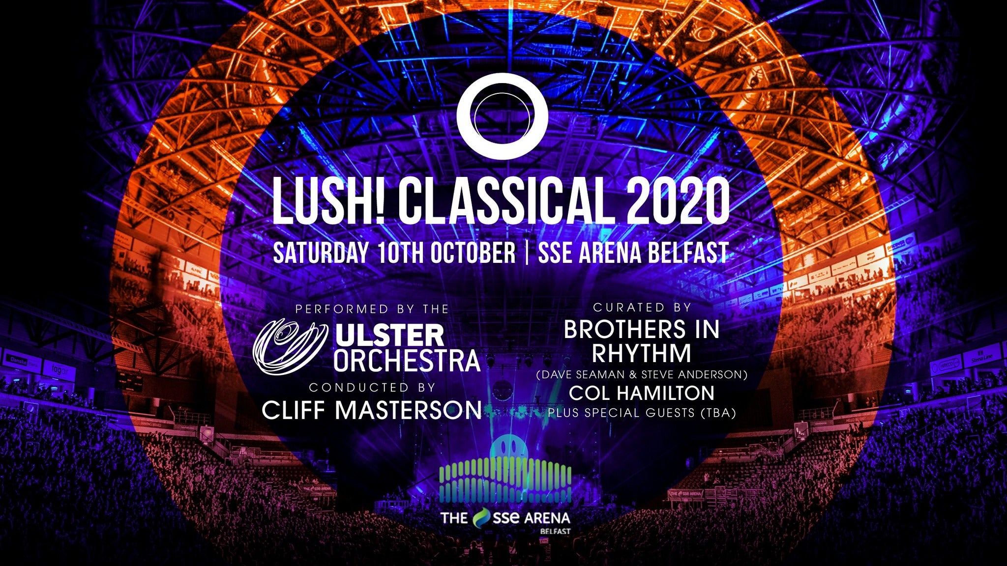 LUSH! Classical tickets (Copyright © Ticketmaster)