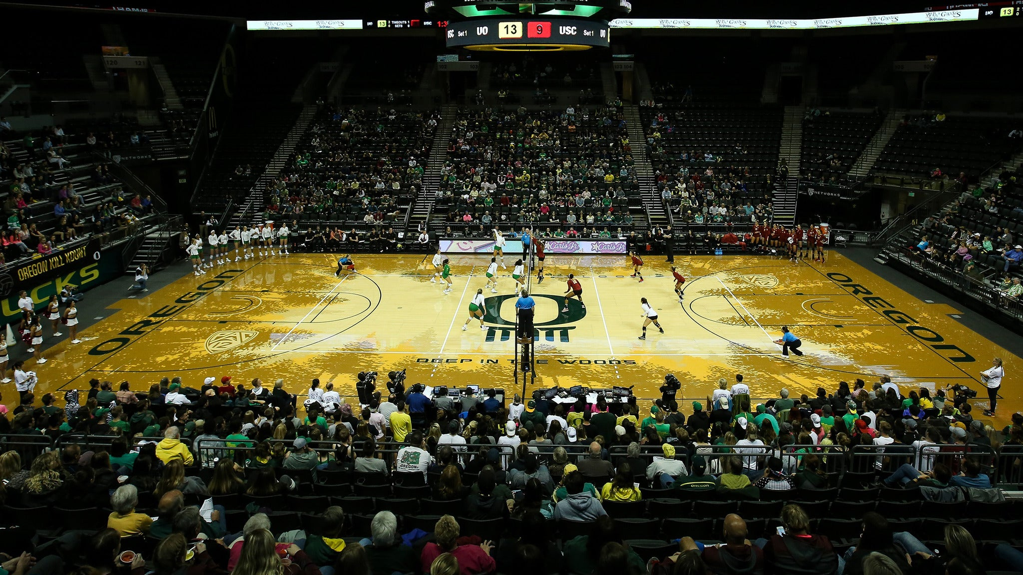 2019 Oregon Ducks Volleyball Full Season Plan