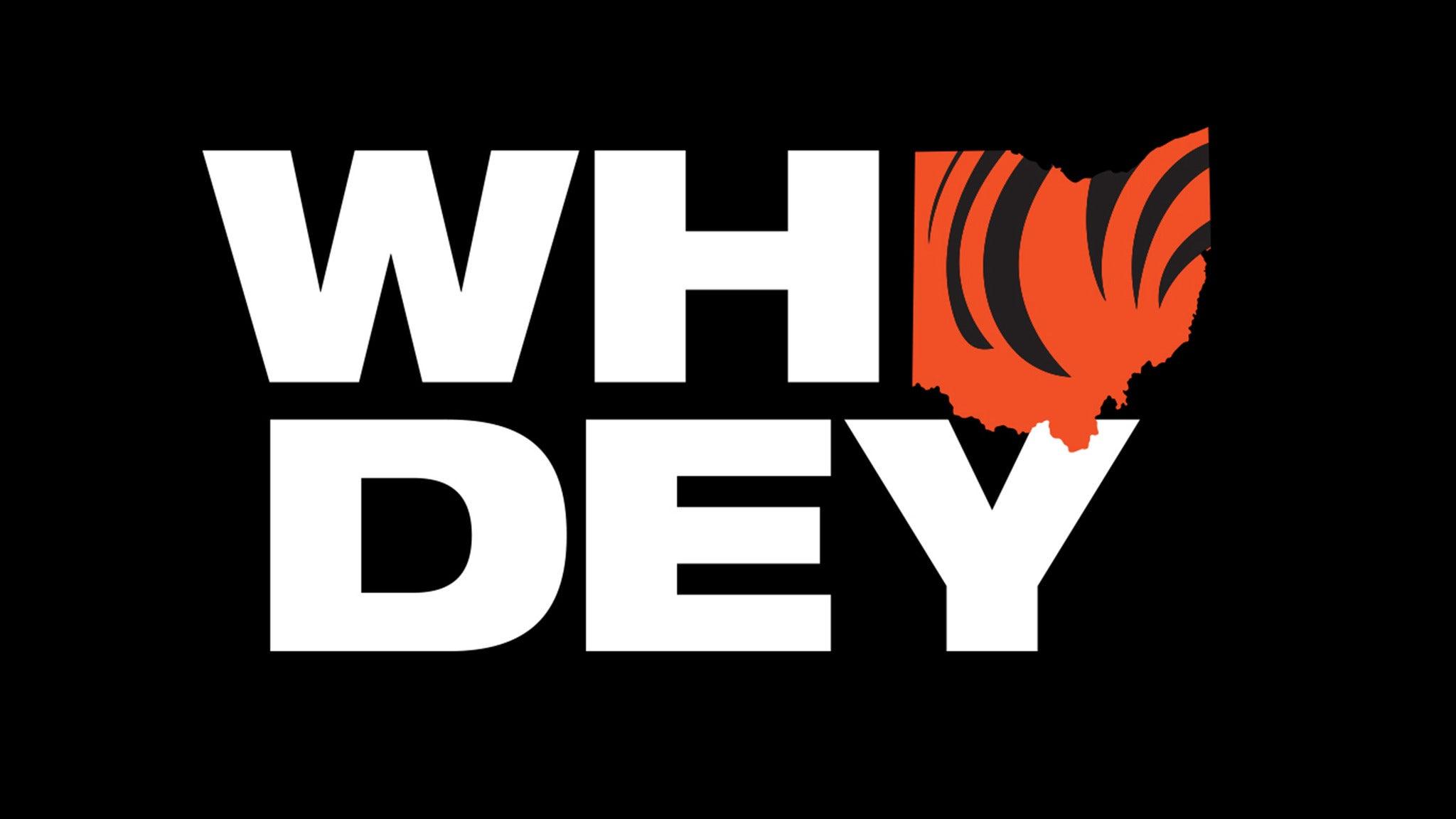 Cincinnati Bengals vs. Detroit Lions