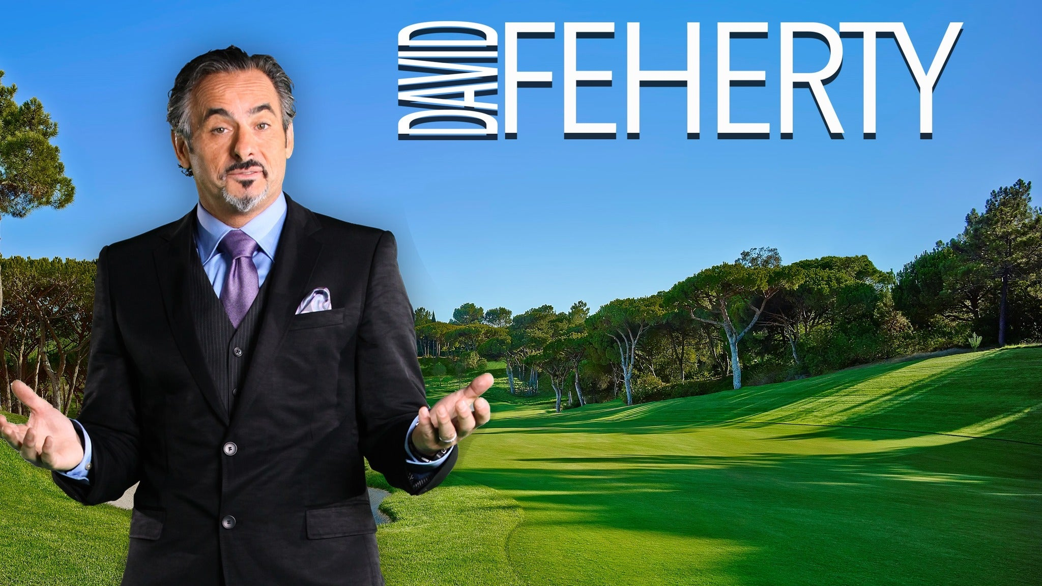 David Feherty at Orpheum Theatre - Wichita KS