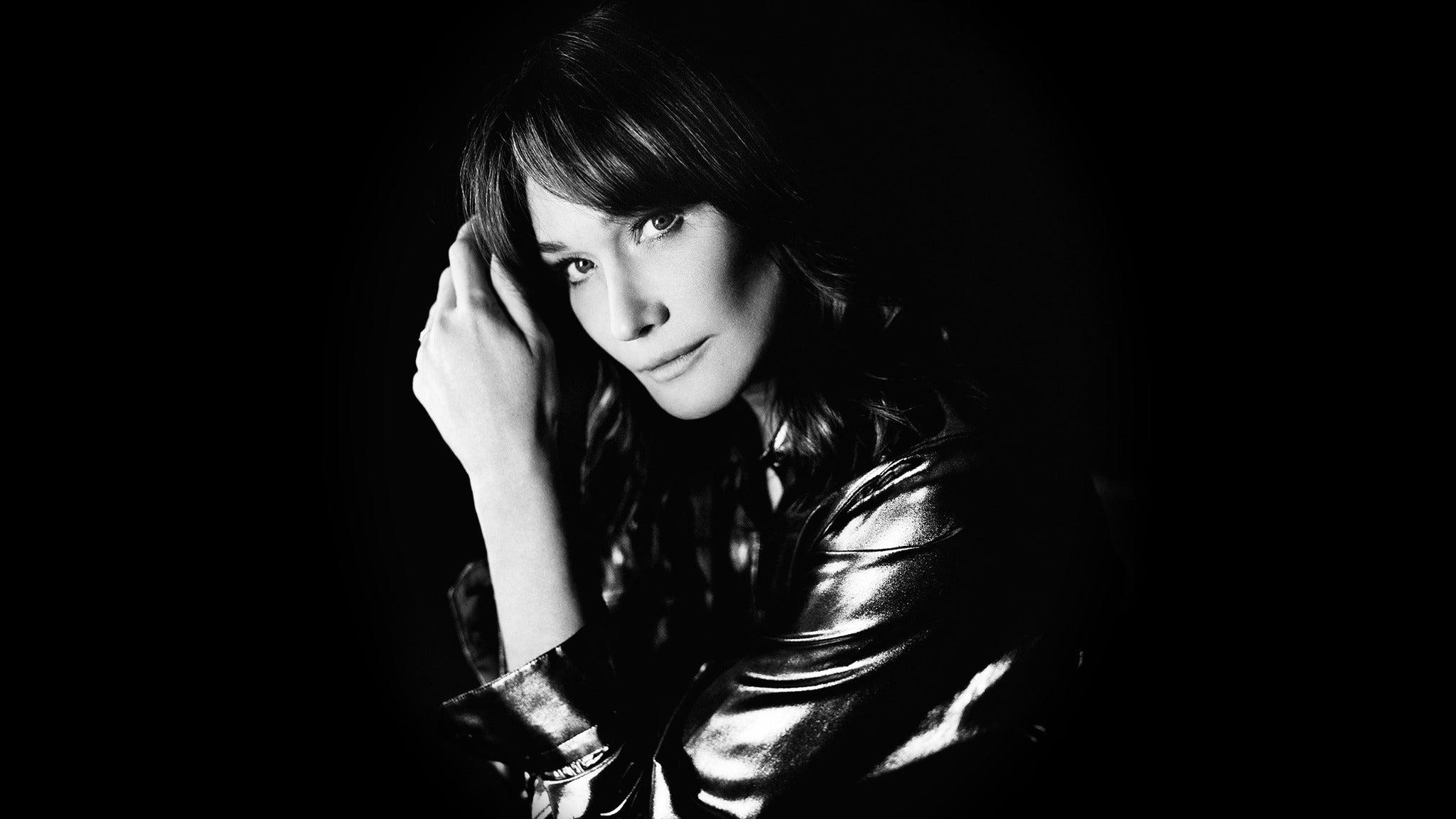 Carla Bruni at Orpheum Theatre - Los Angeles, CA 90014