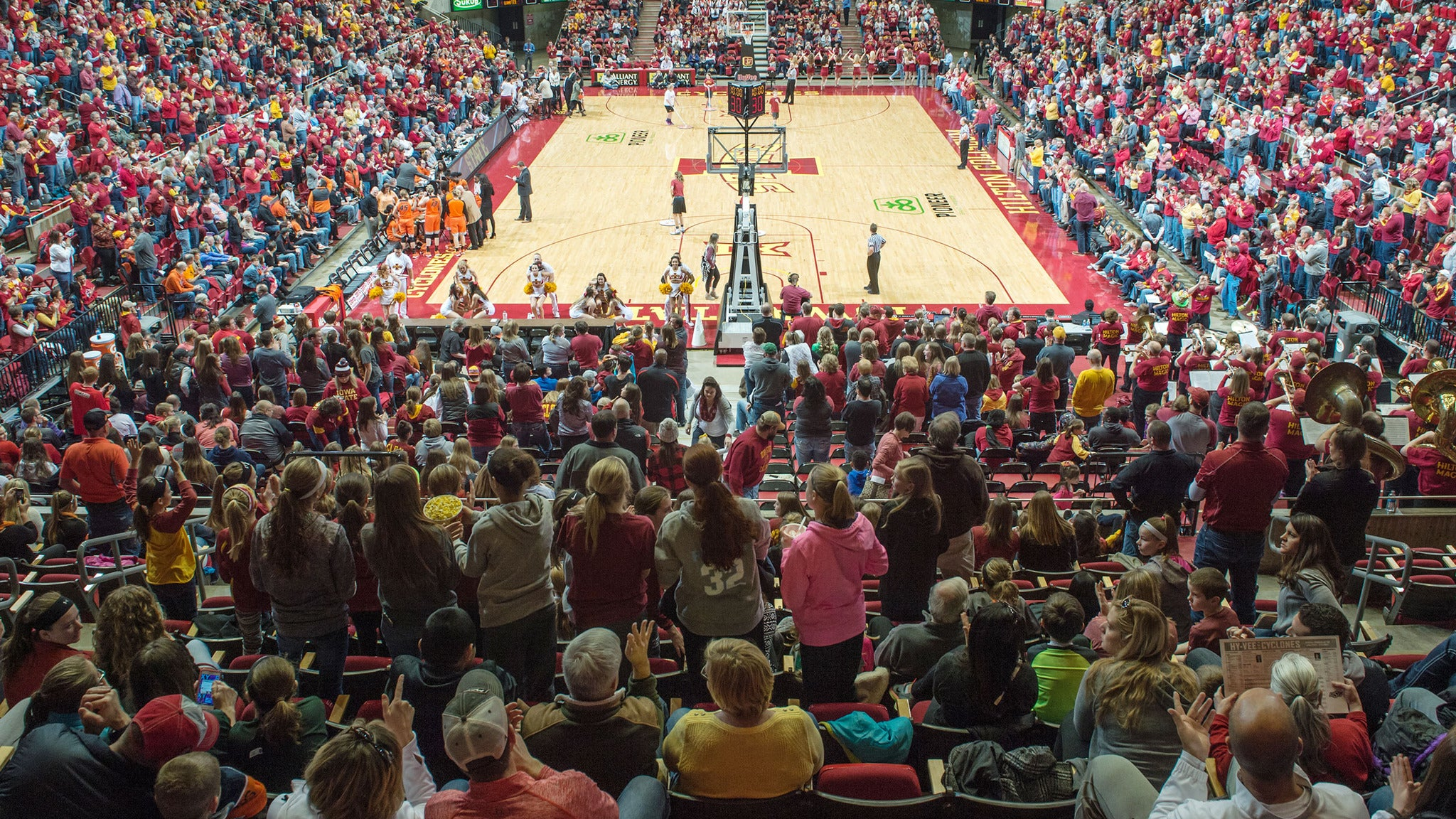 ISU Cyclones Women's Basketball v. Baylor