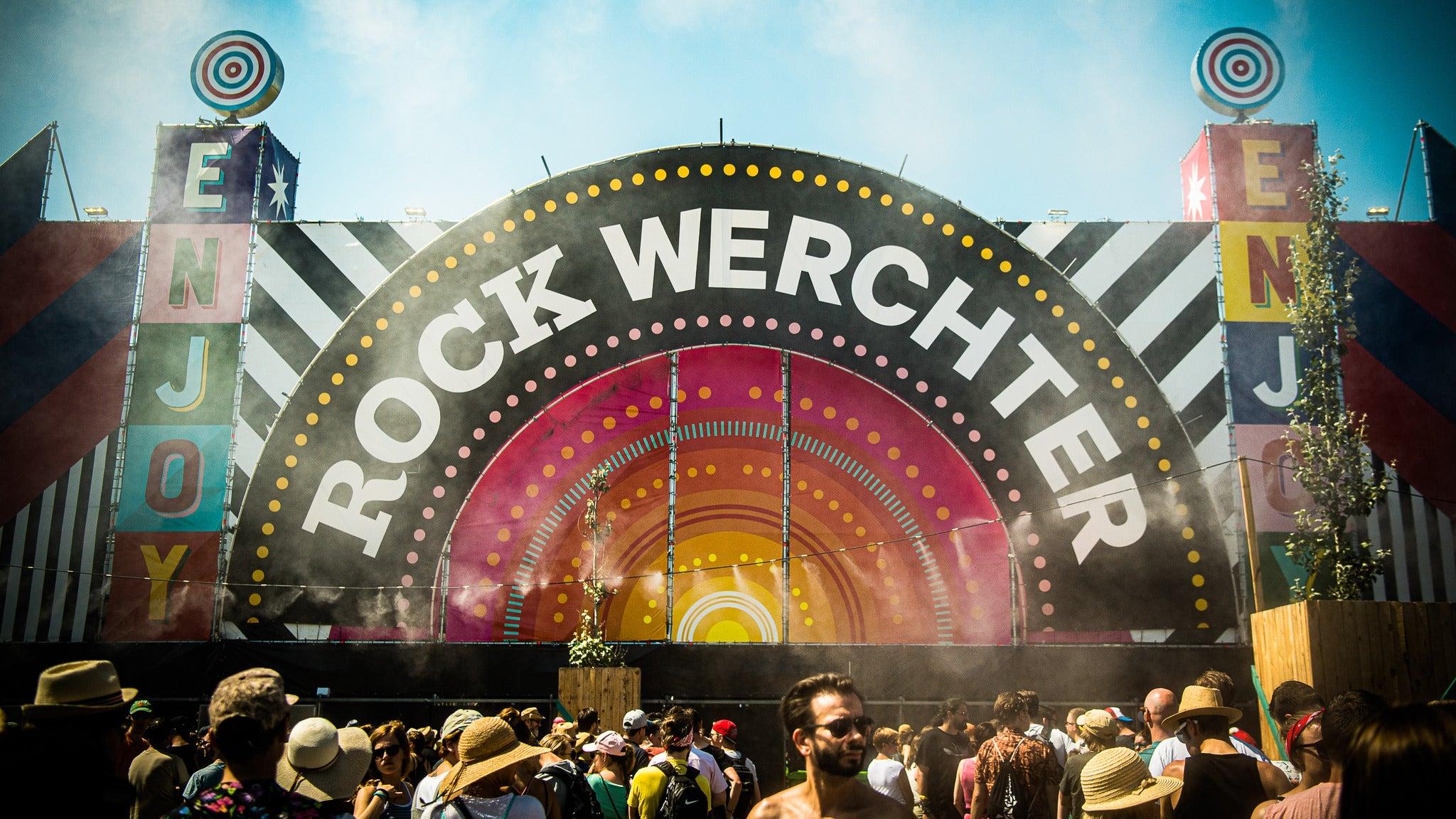 Rock Werchter - Jeudi