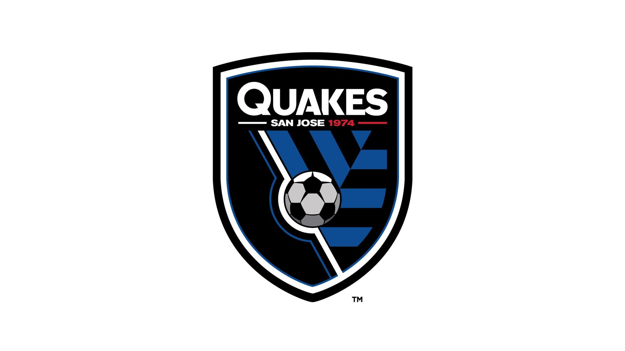 San Jose Earthquakes vs. Portland Timbers at Avaya Stadium - San Jose, CA 95110