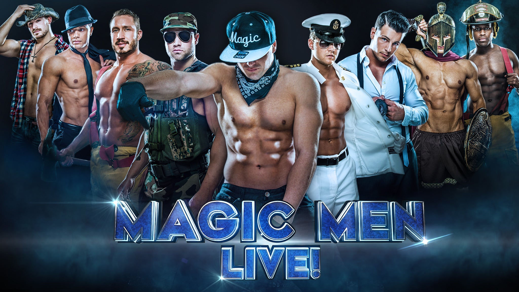 Magic Men LIVE! at Fox Performing Arts Center