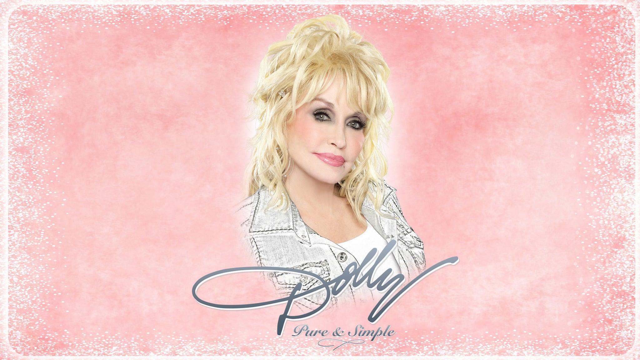 Dolly Parton Pure & Simple Tour