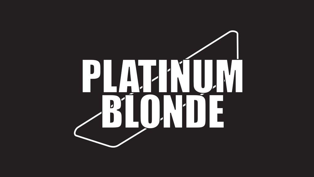 Hotels near Platinum Blonde Events
