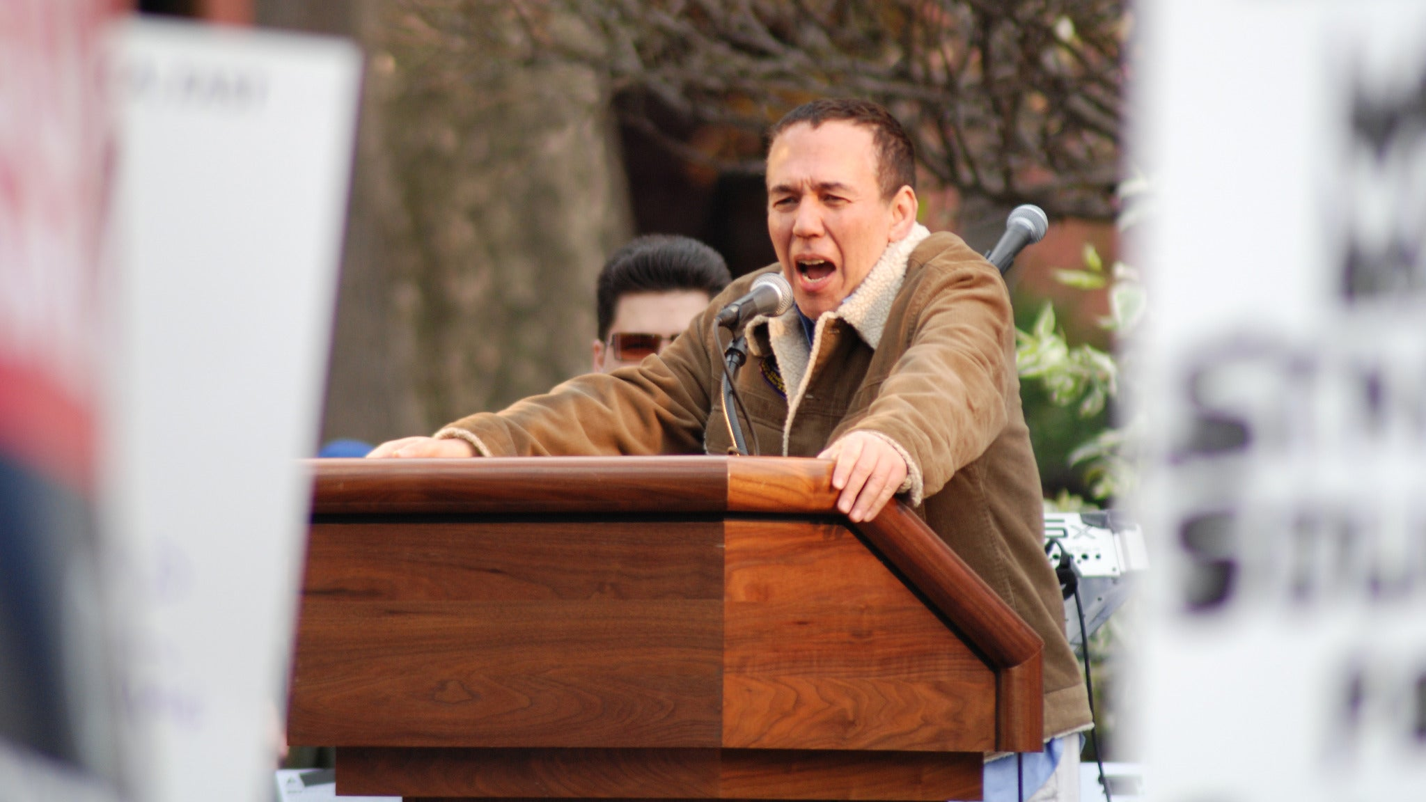 Gilbert Gottfried at Stanhope House