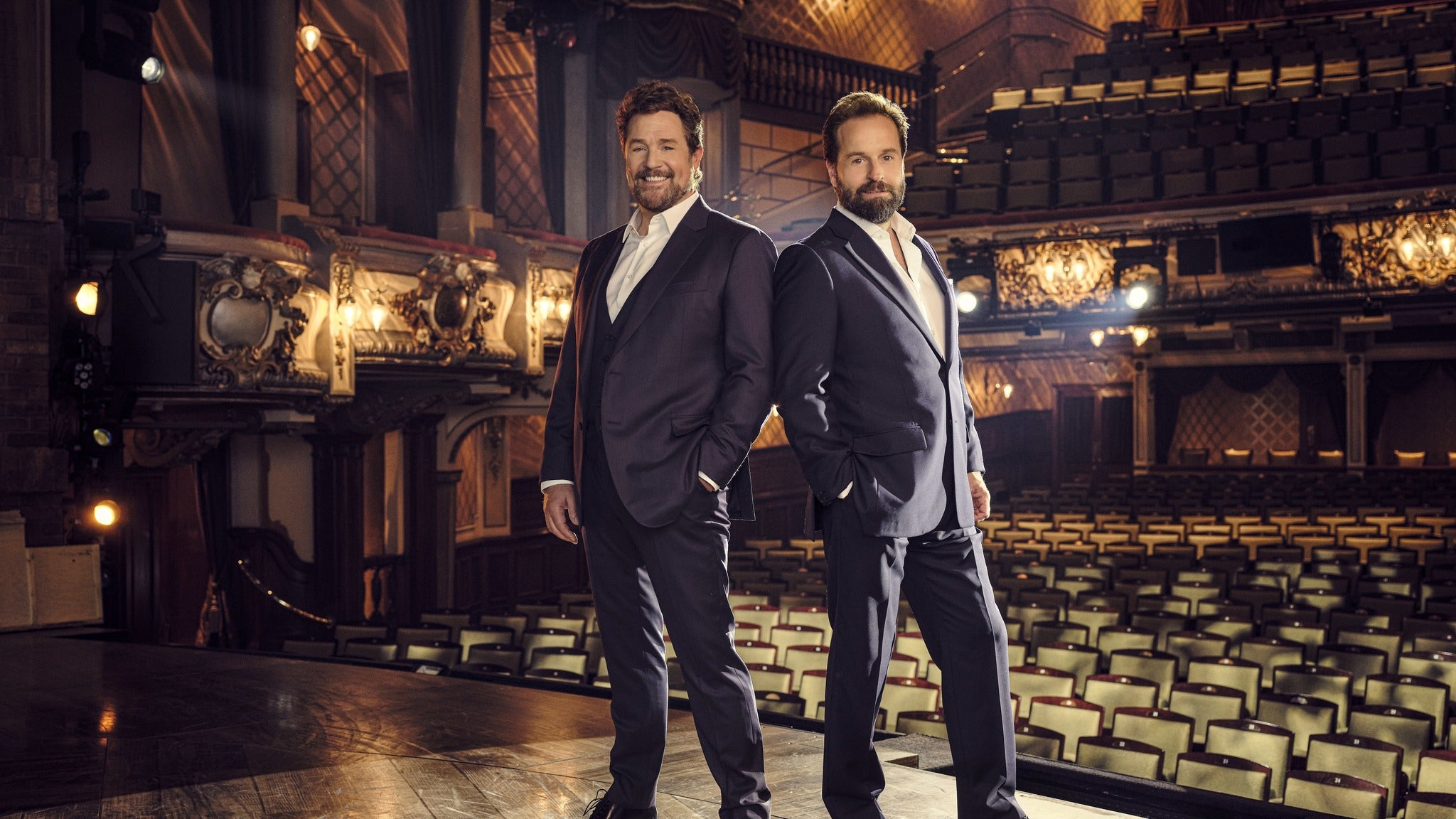 Michael Ball and Alfie Boe Event Title Pic