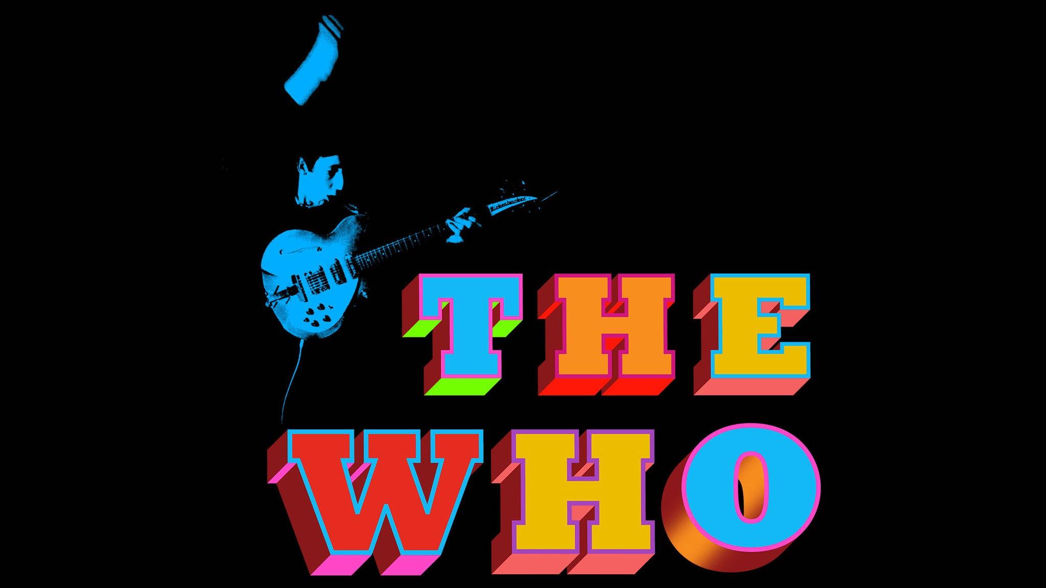 The Who at Mohegan Sun Arena