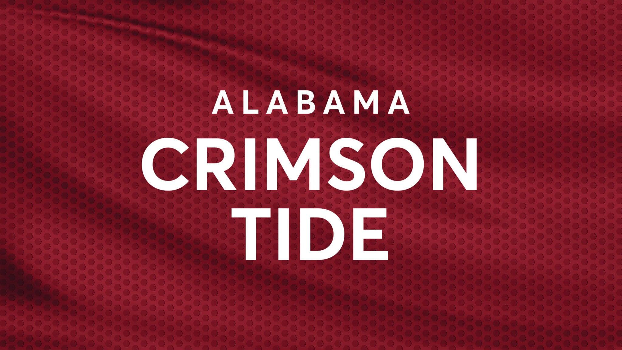 Alabama Crimson Tide Football vs. LSU Tigers Football
